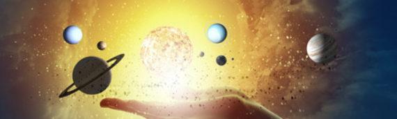 L'influence pertinente sur nos vies et nos caractères des astres et planètes de notre système solaire